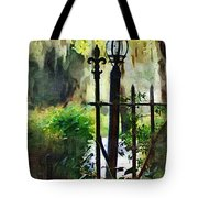 Thru The Gate Tote Bag