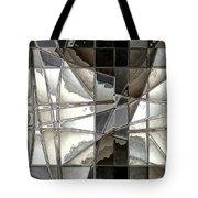 Thru The Grid Tote Bag