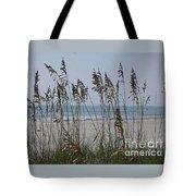 Thru The Sea Oats Tote Bag