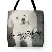 Thumper Dog Quote Tote Bag