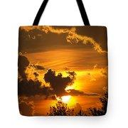 Thunder Mets Sunset Tote Bag