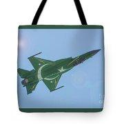 Thunder Over Arabian Sea Tote Bag