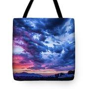 Thunder Storm Tote Bag