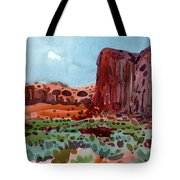 Thunderbird Butte Tote Bag