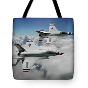 Thunderbirds Of The Future Tote Bag