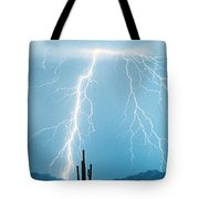 Thunderbolts From Heaven Tote Bag