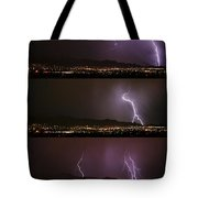 Thunderstorm Sequence Tote Bag