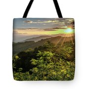 Thunderstruck Sunset Tote Bag