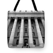 Thurgood Marshall United States Courthouse, Lower Manhattan New  Tote Bag