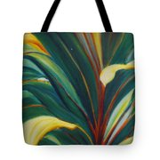 Ti Leaves Too Tote Bag