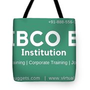Tibco Be Training Institution Tote Bag