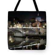 Tiber's Reflection Of Religion Tote Bag
