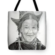 Tibetan Delight Tote Bag