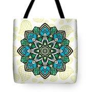 Tibetan Mandala Seamless Pattern Tote Bag