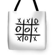 Tic-tac-toe Tote Bag