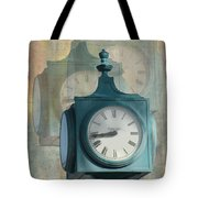 Tick Tock Version Two Tote Bag
