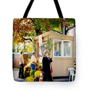 Ticket Booths Tote Bag