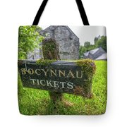 Tickets Sign Tote Bag