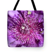 Tickled Purple Tote Bag