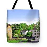 Ticknall Village From Ingleby Lane Tote Bag