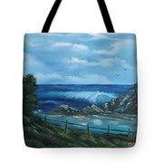 Tidal Eye Tote Bag