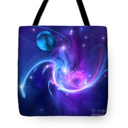 Tidal Forces Tote Bag
