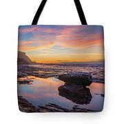 Tidal Pool At Sunset Tote Bag by Dmytro Korol