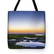 Tidal Pool Sunset Tote Bag