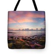 Tidal Pools At Sunrise Tote Bag