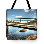 Tidal River Bridge Tote Bag