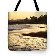 Tidal Sunset Tote Bag