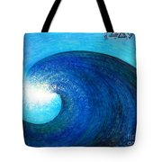 Tidal Wave. Power And Beauty Tote Bag