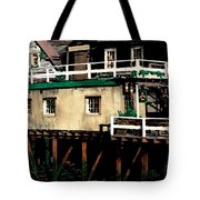 Tide Out At Kennebunkport Tote Bag