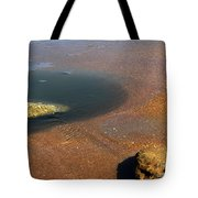 Tide Pool With Coquina Rock Tote Bag