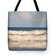 Tide Rolling To The Shores Tote Bag