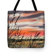 Tideland Sunset Tote Bag