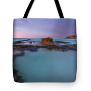 Tidepool Dawn Tote Bag