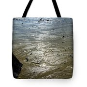 Tides Out After The Storm Tote Bag
