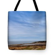 Tides Out Tote Bag