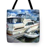 Tidewater Yacht Marina 5 Tote Bag