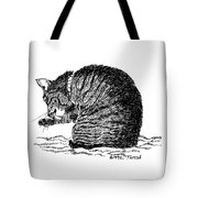 Tidying Up - Art By Bill Tomsa Tote Bag