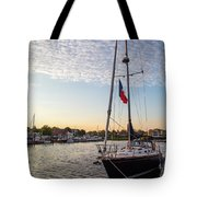 Tied Off For The Night Tote Bag