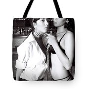 Tied To Love Tote Bag