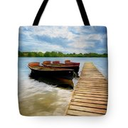 Tied To The Jetty Tote Bag