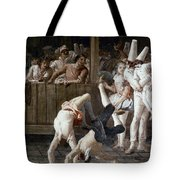 Tiepolo: Acrobats, 18th C Tote Bag