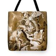 Tiepolo: Saint Jerome Tote Bag