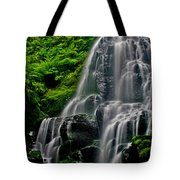 Tiered Falls Tote Bag