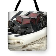Tifillin And Talit Tote Bag