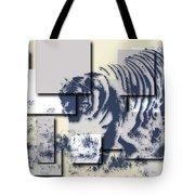 Tiger 5 Tote Bag