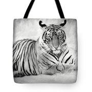Tiger Cub At Rest Tote Bag